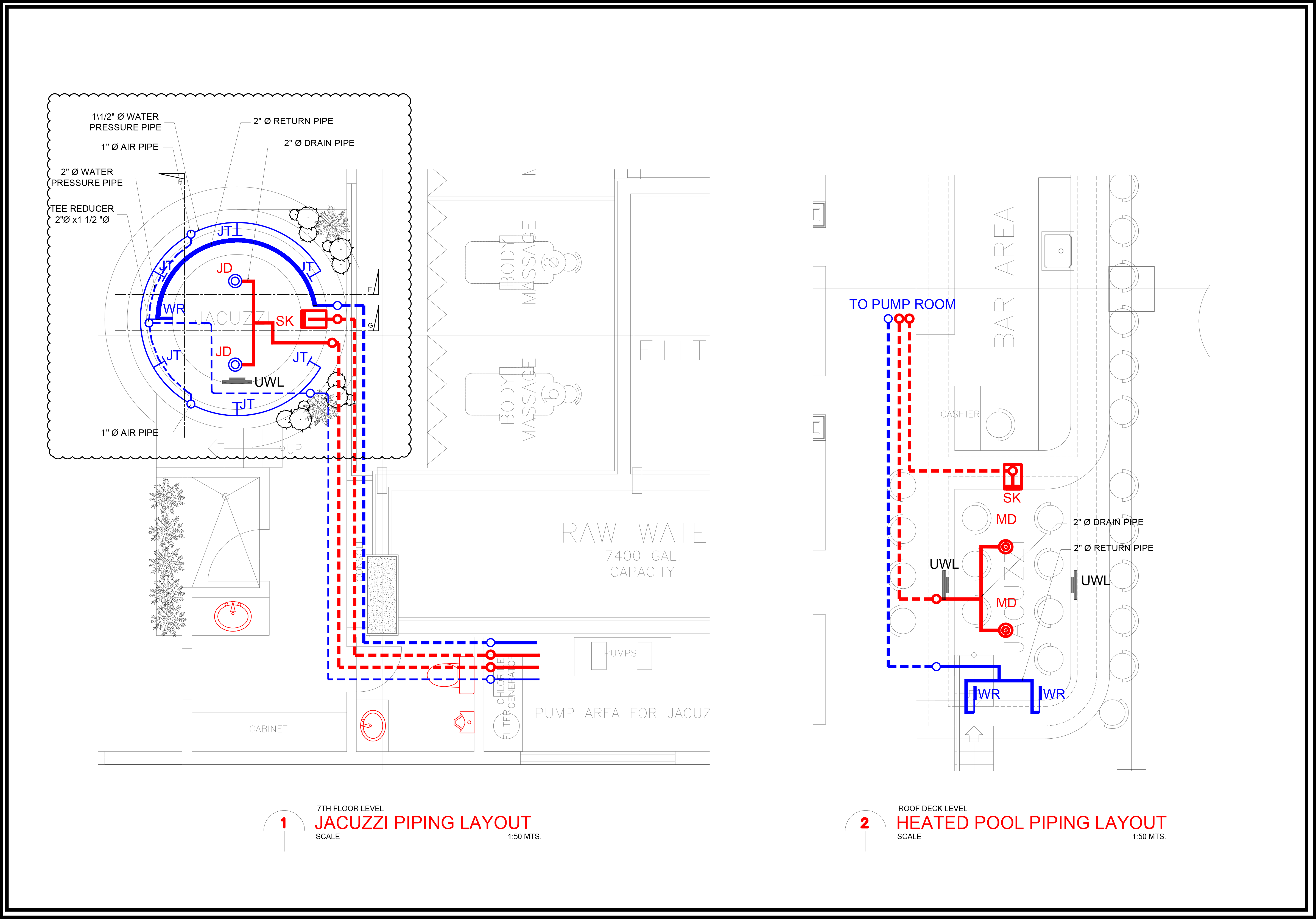 Design And Landscape Jet Pool Specialist Philippines Piping Layout Plan We Do Our Project Based On Approved